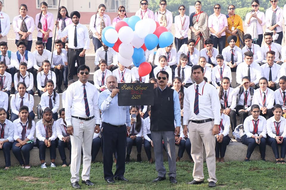 Road Show at Innocent Hearts Group of Institutions